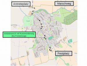 Marschweg