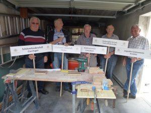Auch Rentnertruppe für Bundesschützenfest aktiv